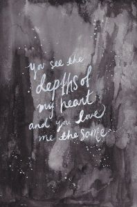 depths f heart