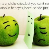 You Can't See The Depression In Her Eye