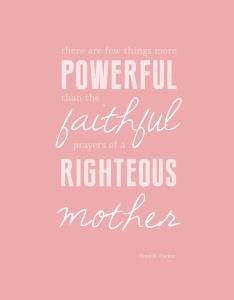 faithful prayers