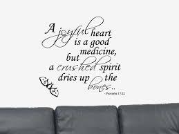 proverbs 17;22